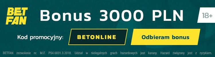 Bonus w Betfan
