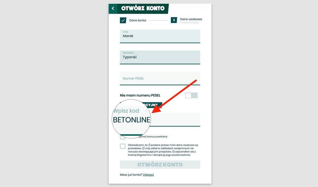 3000 bonusu na start w Betfan